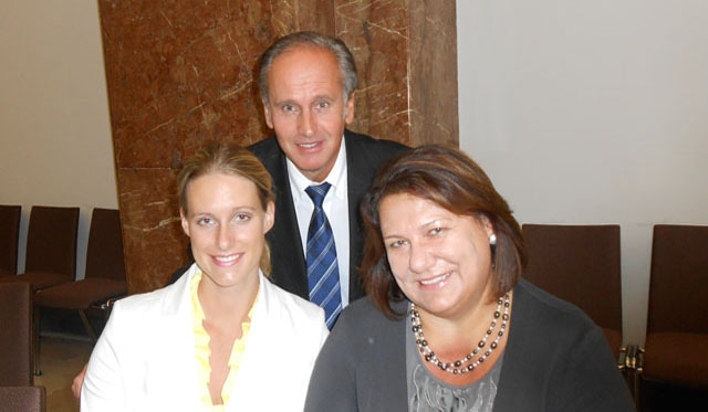 Ordinationsmanagerin Helga Dreer, Mag. Claudia Dreer, MR Dr. Anton Dreer